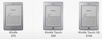 Amazon lanza nuevos Kindle y una tablet con las vistas puestas en el cloud computin