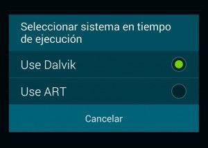 art consola android 5