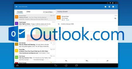 outlook android ios app